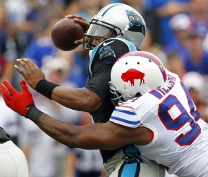 Mario Williams, Cam Newton