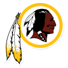 4 Redskins Logo