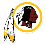 4 Redskins Logo