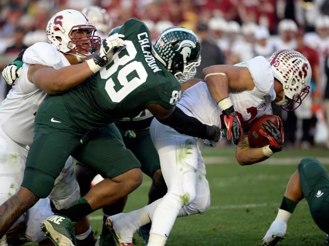 NCAA Football: Rose Bowl-Stanford vs Michigan State