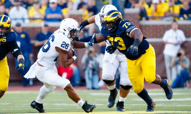 NCAA Football: Penn State at Michigan