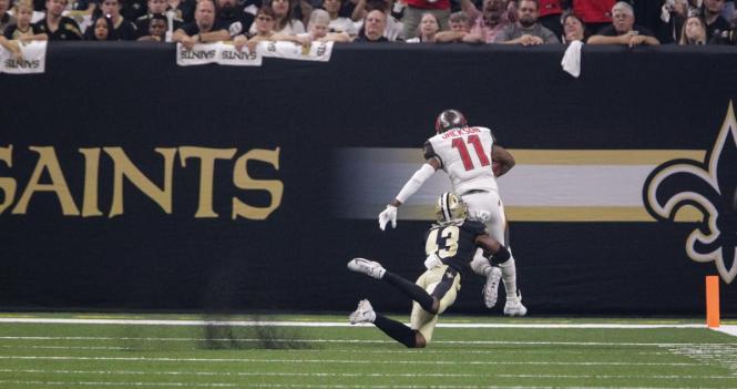 Jackson touchdown